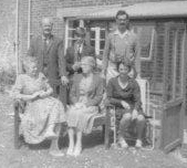 Me with my mother, father, grandparents & great aunt (middle front).